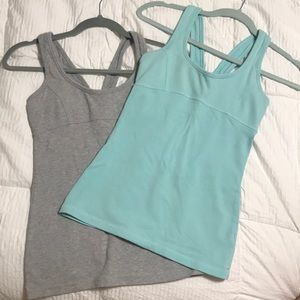 Forever21 set of 2 athletic tank tops sz S